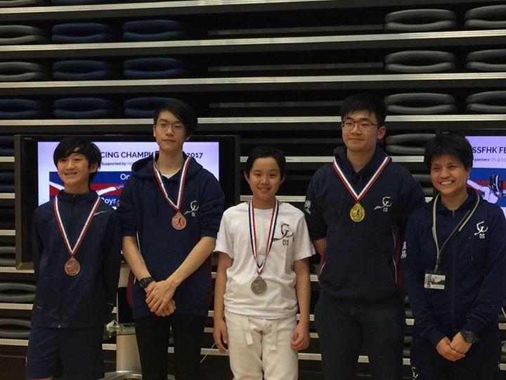 ISSF Fencing Championship 國際校際比賽 Open Grade